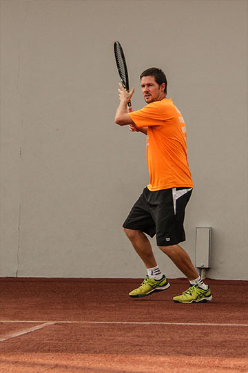 Tennis Coach Adam Branks