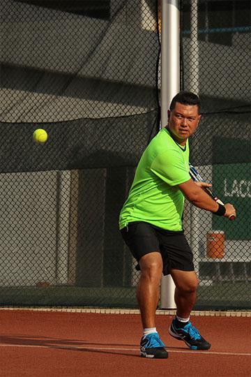 Tennis Coach Adrian Ng