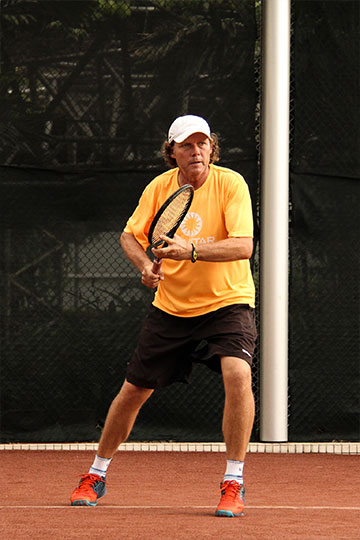 Tennis Coach Frank Bruinsma