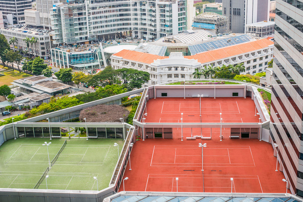 Singapore Tennis Courts