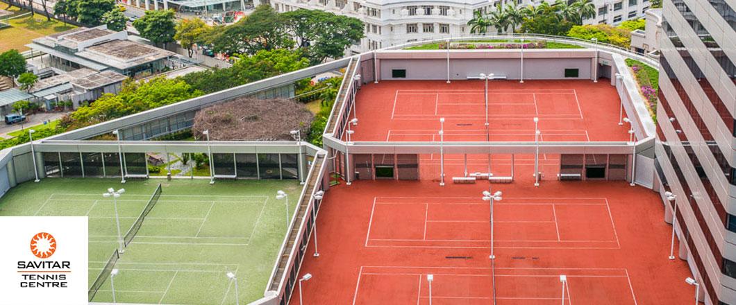 Singapore Tennis Court