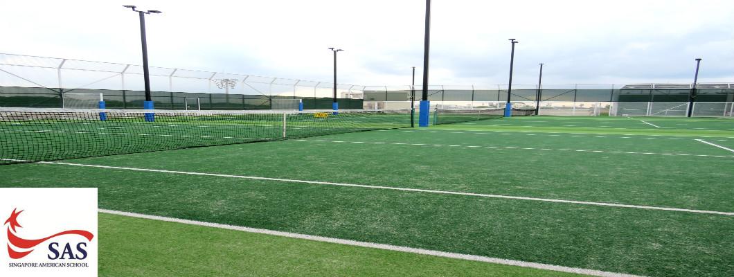 Singapore Tennis Courts - SAS