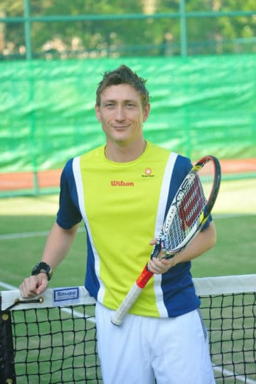 James Corin - Singapore Tennis Coach