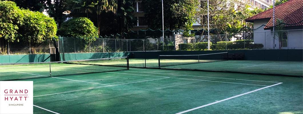 Tennis Courts - Grand Hyatt