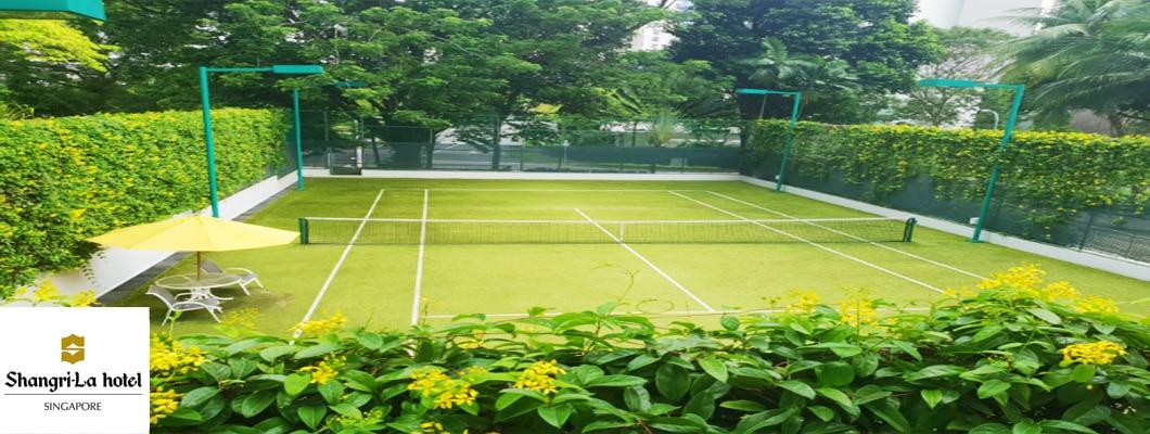 Tennis Courts - Grand Hyatt Shangri-la